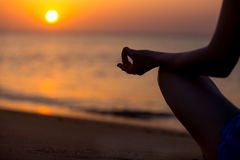 Yoga mudra Royalty Free Stock Images