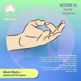 3 Yoga Mudras Gestures stock illustration
