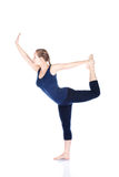 Yoga natarajasana dancer pose Stock Photo