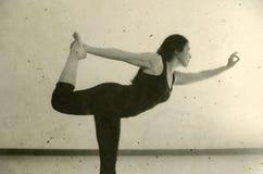 Yoga Natrajasana Royalty Free Stock Photography