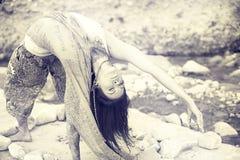 Yoga naturale Fotografia Stock Libera da Diritti