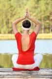 Yoga normal image libre de droits