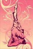 Yoga-Original Lizenzfreies Stockbild