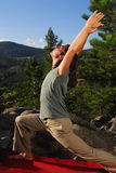 Yoga in the outdoors Stock Photography