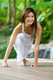 Yoga Outdoors Royalty Free Stock Photo