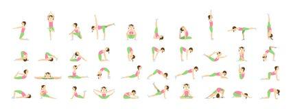 Yoga para los niños Foto de archivo libre de regalías