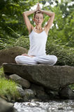 Yoga in park 15 Royalty Free Stock Images