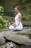 Yoga in park 22 Royalty Free Stock Photography