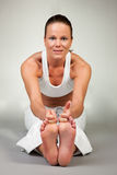 Yoga - Paschimottanasana Stock Image