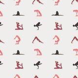 Yoga pattern Stock Photo