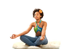 Yoga peace Stock Images