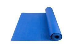 Yoga Pilates ou tapis de forme physique pour l'exercice images libres de droits