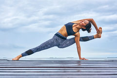 Yoga Pla Royalty Free Stock Images