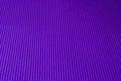 Yoga porpora Mat Texture Fotografia Stock Libera da Diritti
