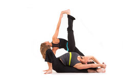 Yoga Pose Royalty Free Stock Photos