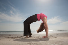 Yoga Pose Royalty Free Stock Photography