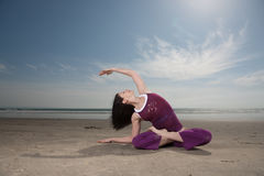 Yoga Pose Royalty Free Stock Image