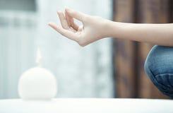 Yoga pose Stock Image