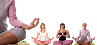 Yoga pose Stock Photography