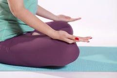 Yoga pose Royalty Free Stock Photos