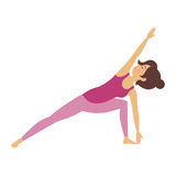 Yoga Pose Royalty Free Stock Images