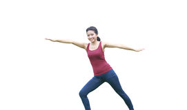 Yoga Pose and Stretch Stock Photos