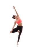 Yoga Pose vrikshasana Royalty Free Stock Photos