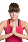 Yoga Pose Woman Royalty Free Stock Photos