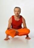 Yoga poserar Arkivfoton