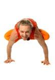 Yoga poserar Arkivbilder