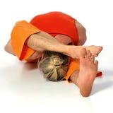 Yoga poserar Royaltyfri Bild