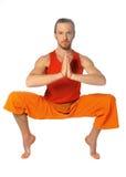 Yoga poserar Arkivbild