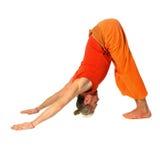 Yoga poserar Royaltyfria Bilder