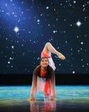 Yoga poses-Folk dance Royalty Free Stock Photo