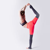 Yoga poses Royalty Free Stock Image