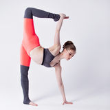 Yoga poses Stock Photo