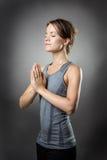 Yoga poses Royalty Free Stock Image