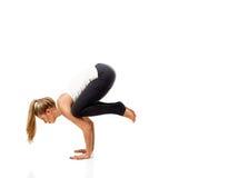 Yoga poses Stock Image