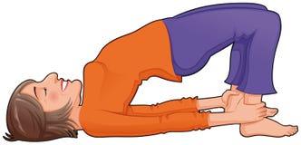 Yoga Position. Stock Photos