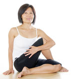 Yoga Position Royalty Free Stock Photography