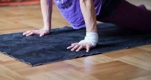 Yoga position Stock Photography