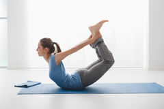 Yoga positions Stock Images