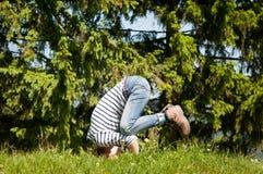 Yoga posture Stock Photos