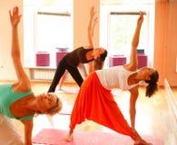 Yoga pour des femmes Photo stock