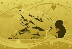 Yoga pour la santé Image libre de droits