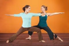 Yoga Practice Royalty Free Stock Image