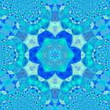 Yoga practice mandala with effect of laser illumination. Yoga mandala with effect of laser illumination stock images