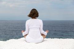 Yoga practice Royalty Free Stock Photography