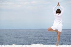 Yoga practise Royalty Free Stock Photos
