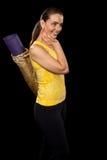 Yoga Practitioner Stock Photo
